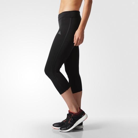 d4cb66a8602 adidas Pants | Response Threequarter Tights B47765 | Poshmark